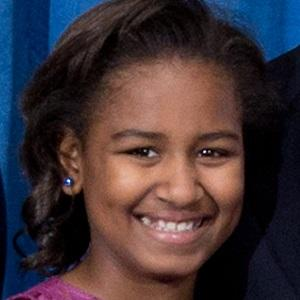 Family Member Sasha Obama - age: 19