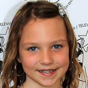 Movie actress Isabelle Nelisse - age: 17
