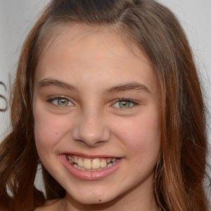 Movie actress Caitlin Carmichael - age: 12