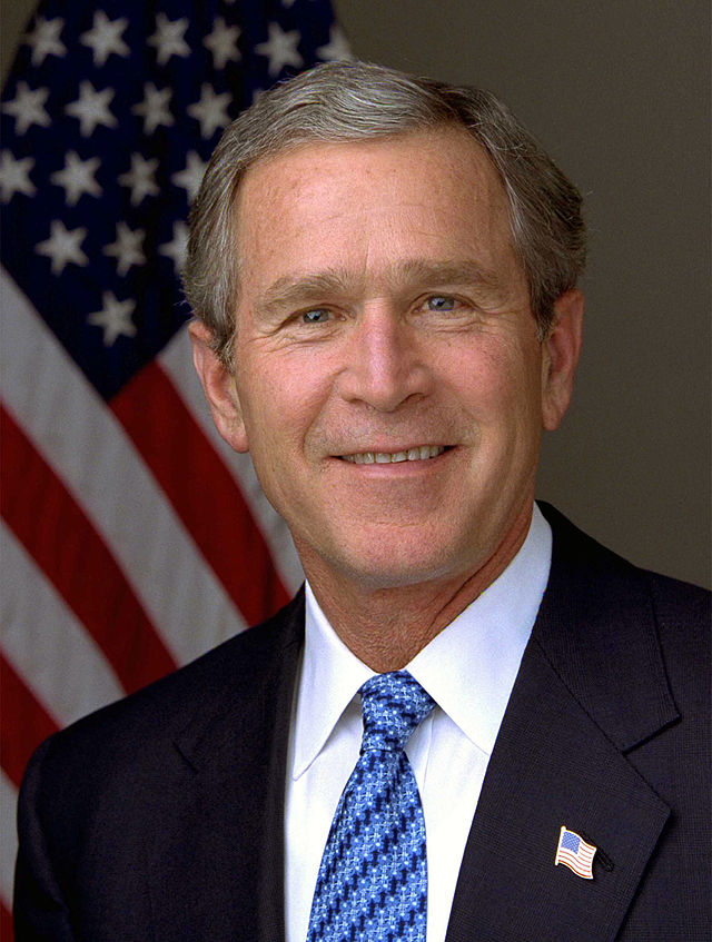 President of the US George W. Bush - age: 74