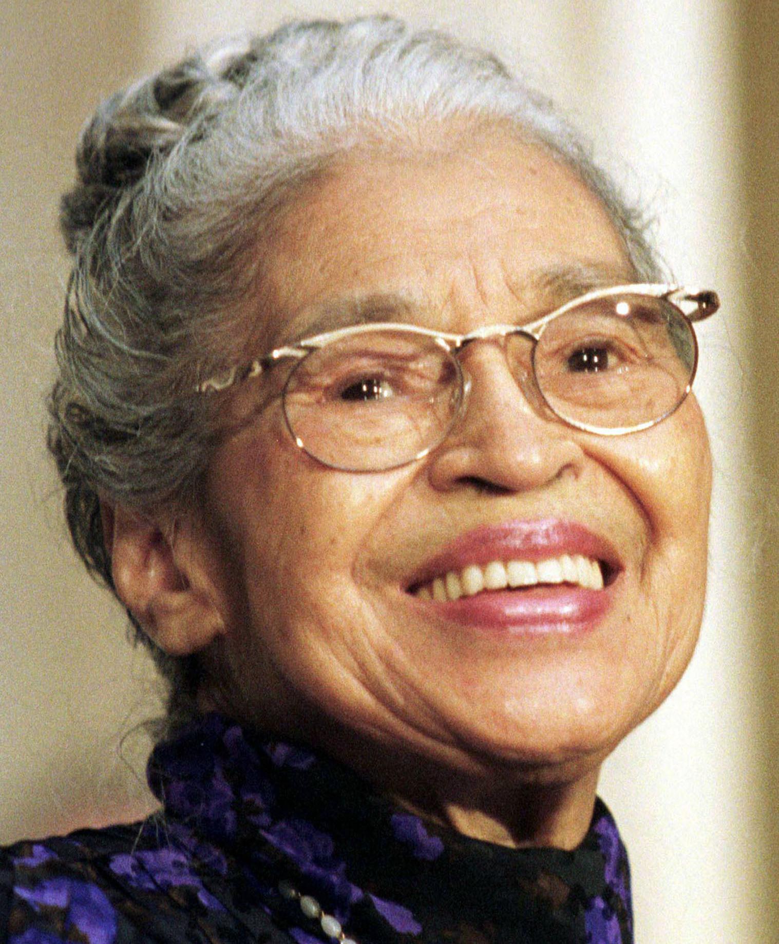 Rosa Parks - age: 104