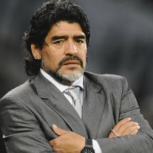 Soccer Player Maradona - age: 60