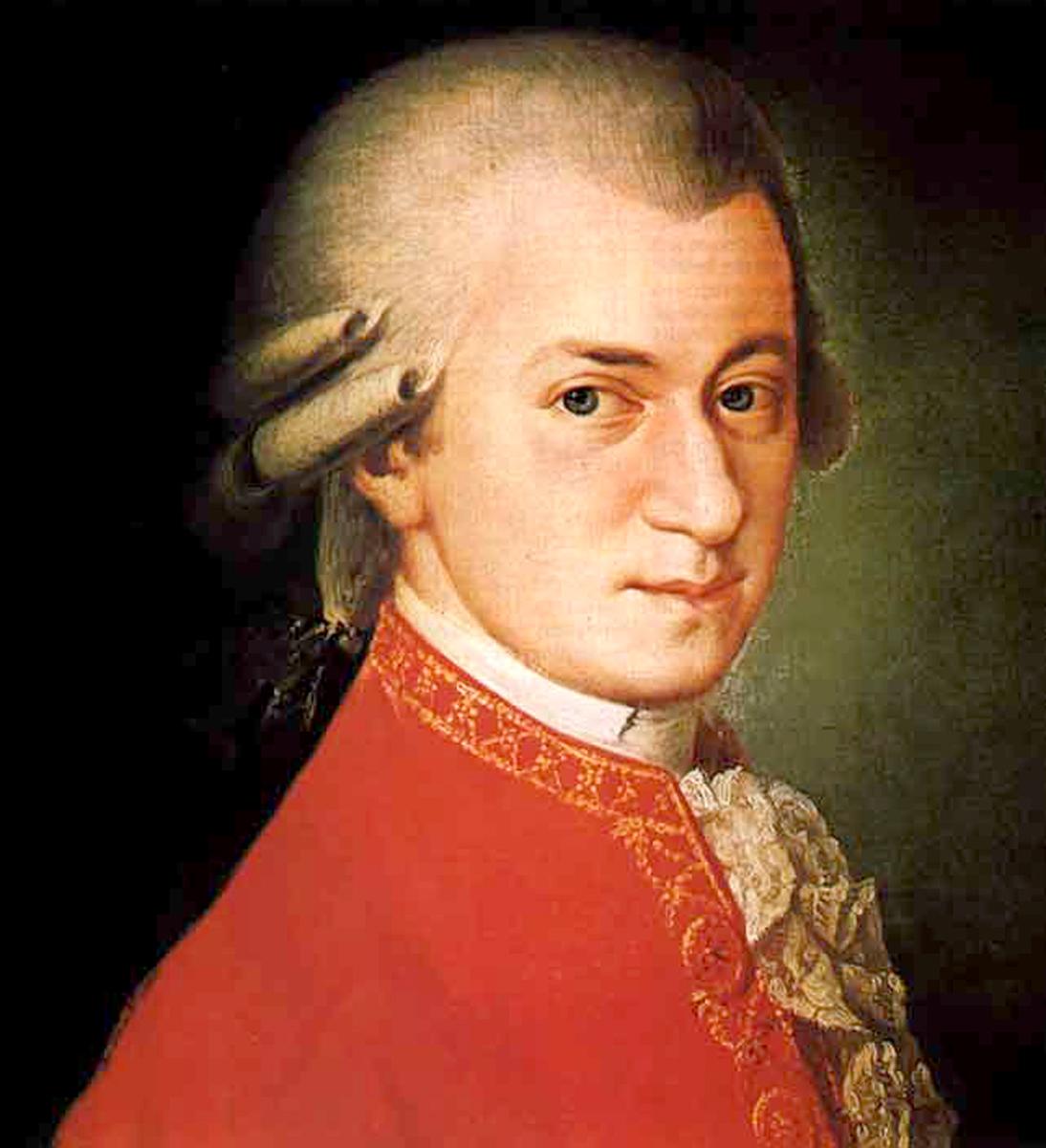 Composer Mozart  - age: 35