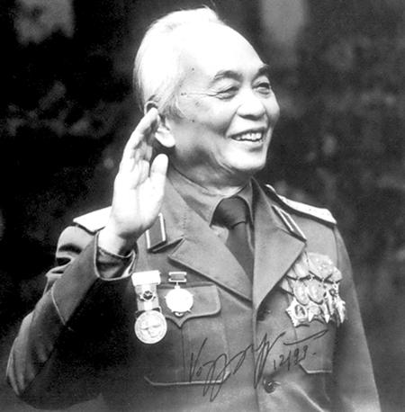 General Vo Nguyen Giap - age: 102