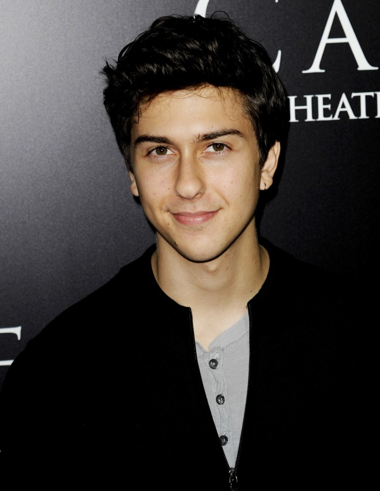 Actor Nat Wolff - age: 26