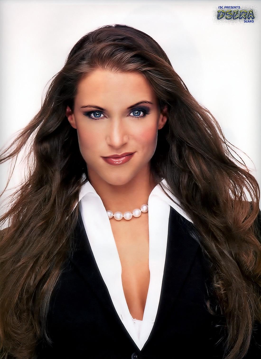 Wrestler Stephanie McMahon  - age: 41