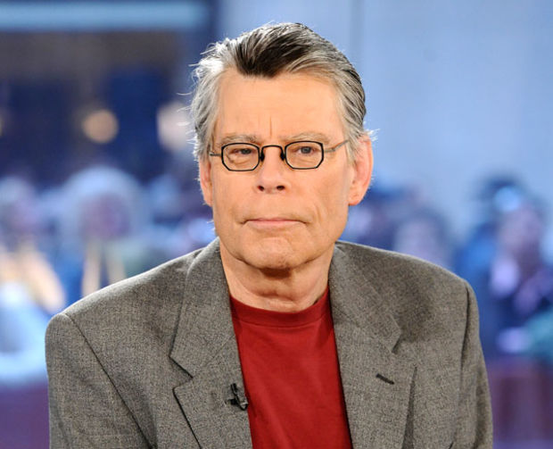 Author Stephen King  - age: 74