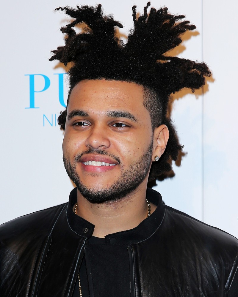 Singer The Weeknd - age: 27