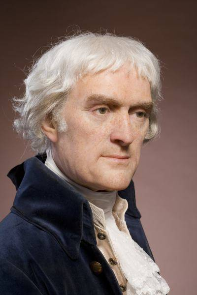 President Thomas Jefferson  - age: 83
