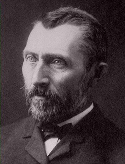 Painter Vincent van Gogh  - age: 37
