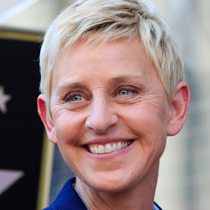Comedian Ellen DeGeneres - age: 63