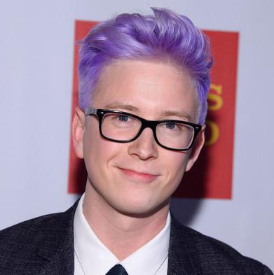 Youtube celebrity Tyler Oakley - age: 28