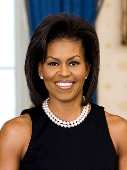 First Lady of the United States Michelle Obama - age: 53