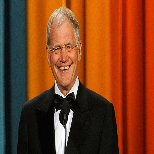 Television host David Letterman - age: 70