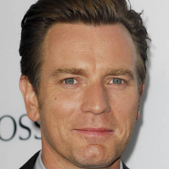 Actor Ewan McGregor  - age: 49