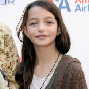 Movie actress Sophie Nyweide - age: 16