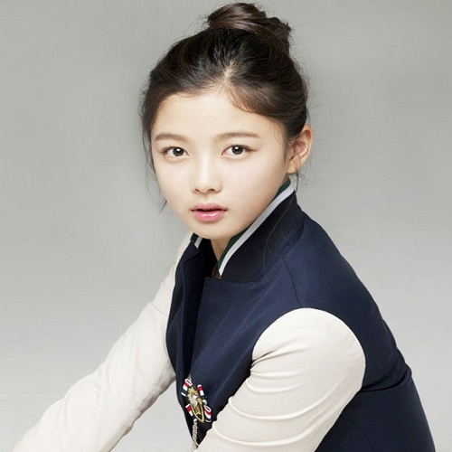 Actress Kim Yoo-jung - age: 17
