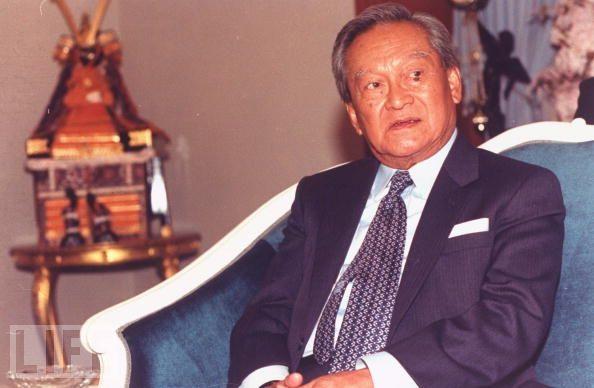 Army Officer Chatichai Choonhavan - age: 78