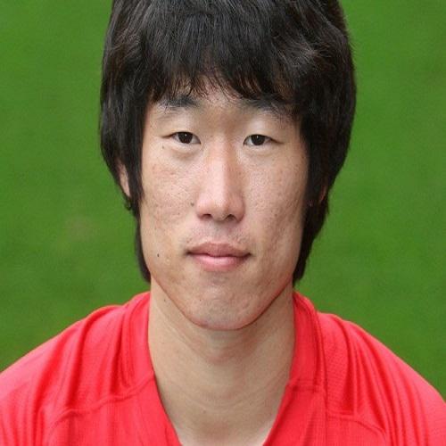 Football player Park Ji-sung - age: 40