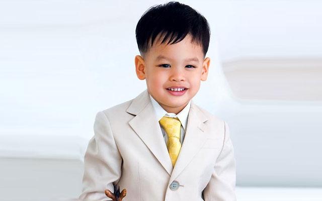 Prince of Thailand Dipangkorn Rasmijoti - age: 12
