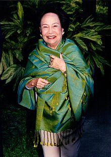 businesswoman Lursakdi Sampatisiri - age: 91