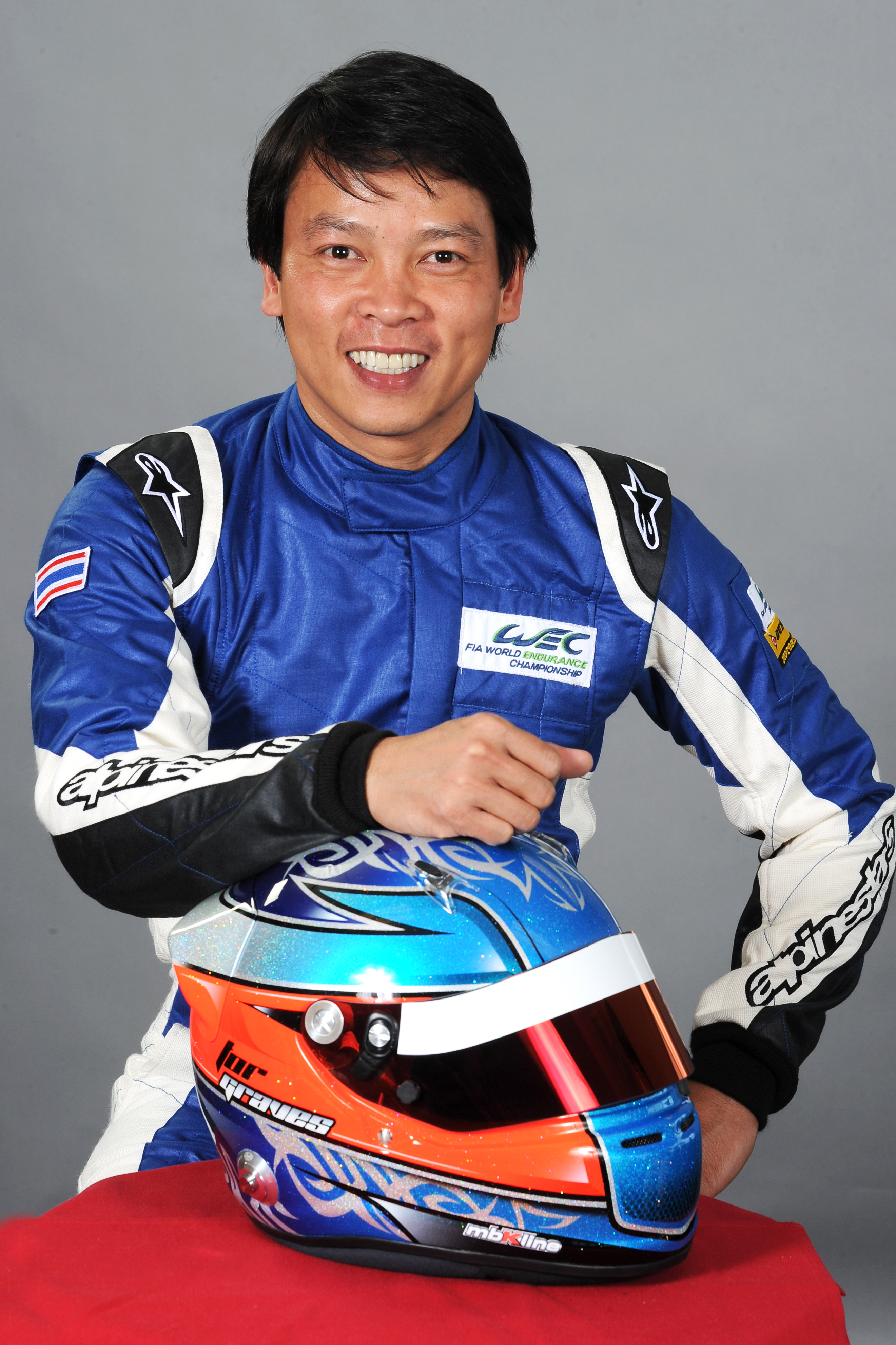 Racing driver Tor Graves - age: 48