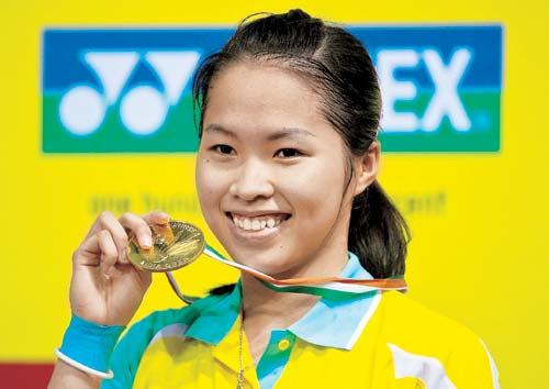 Badminton Player Ratchanok Inthanon - age: 25