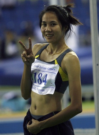 High Jumper Noengrothai Chaipetch - age: 34