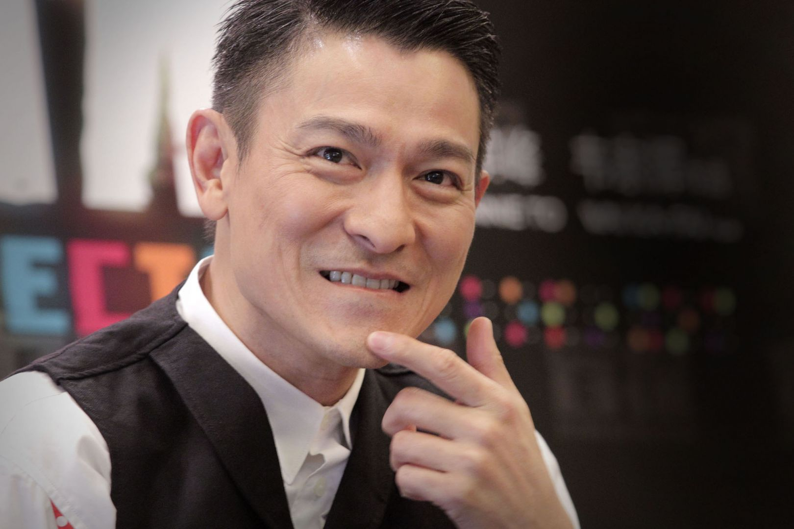 Actor Andy Lau - age: 34