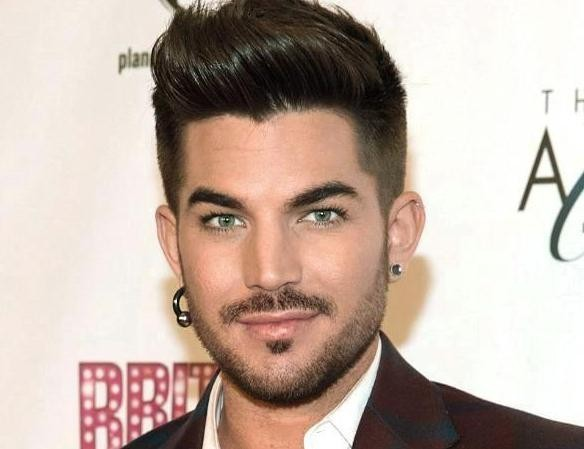 Singer-songwriter Adam Lambert - age: 35