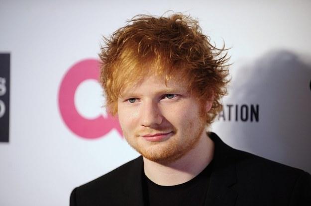 Singer Ed Sheeran - age: 26