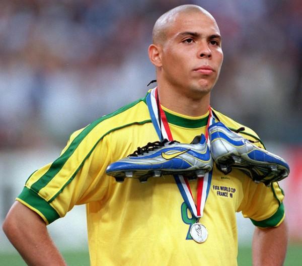 Footballer Ronaldo - age: 45