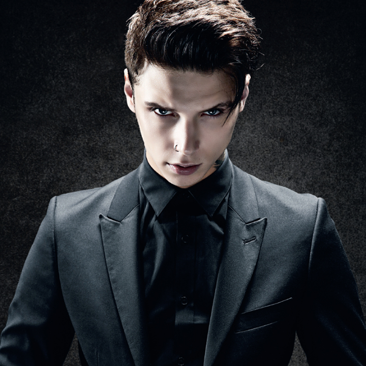 Singer Andy Black - age: 26