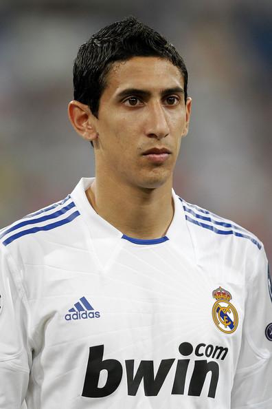 Footballer Angel di Maria - age: 33