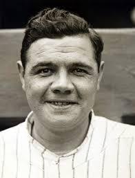 baseball player Babe Ruth - age: 53