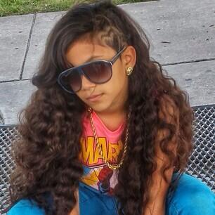 Rapper Baby Kaely - age: 12