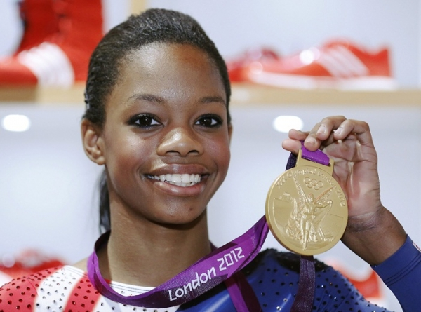 Gymnast Gabby Douglas - age: 22