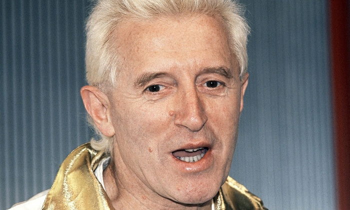 Television personality Jimmy Savile - age: 90