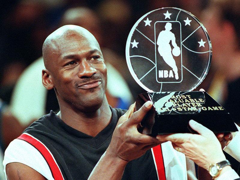 Basketball Player Michael Jordan - age: 54