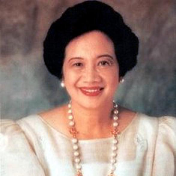 Politician Corazon Aquino - age: 76