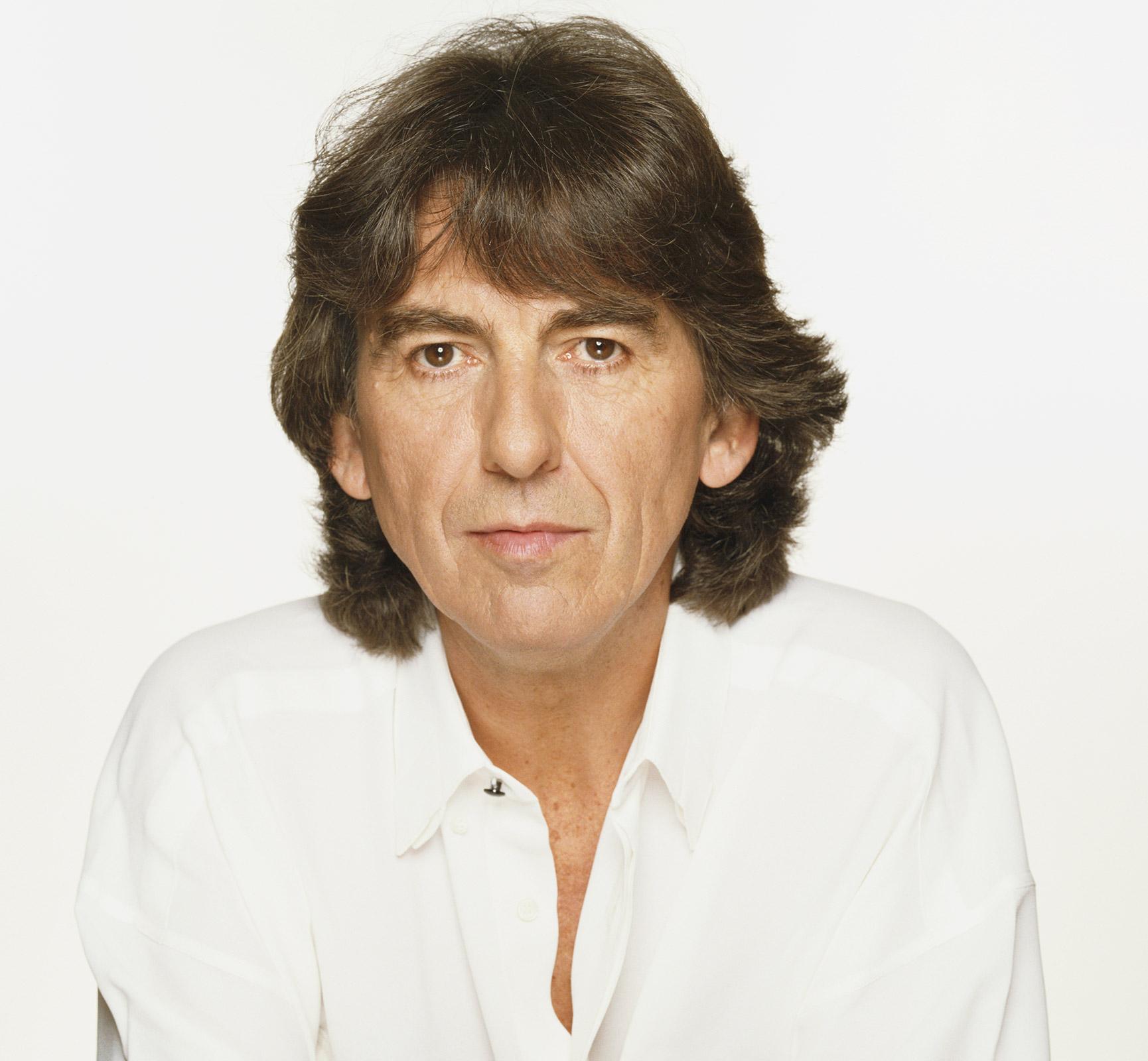 Guitarist George Harrison - age: 58