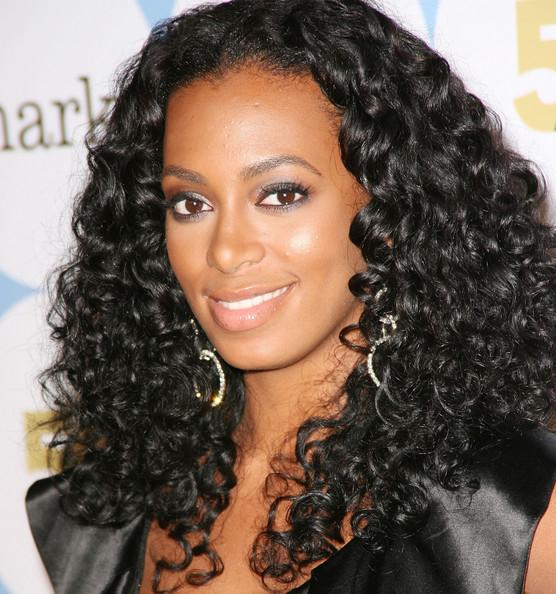 Singer Solange Knowles - age: 34