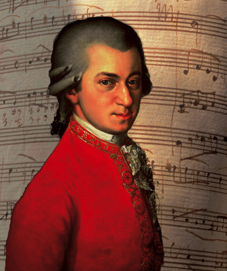Composer Wolfgang Amadeus Mozart - age: 35