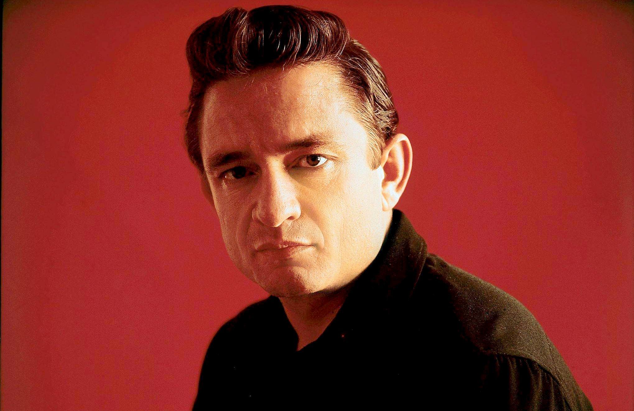 Singer-songwriter Johnny Cash - age: 71
