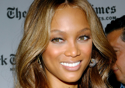 Television personality Tyra Banks - age: 44
