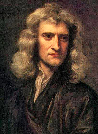 Scientist Sir Isaac Newton - age: 83