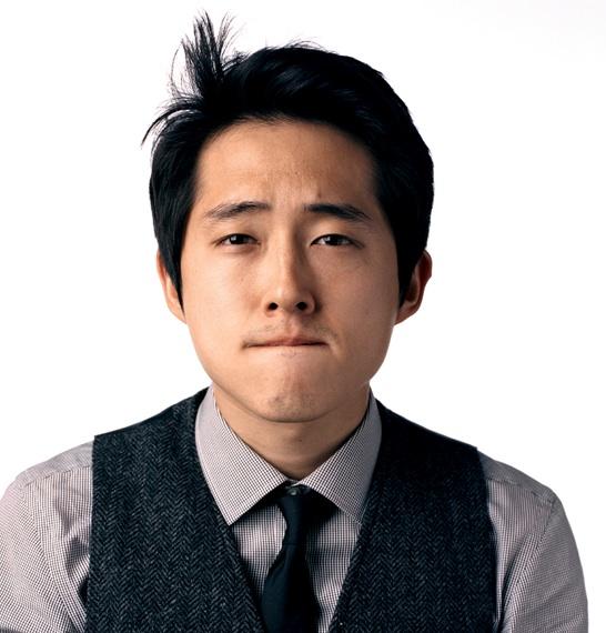 Actor Steven Yeun - age: 33