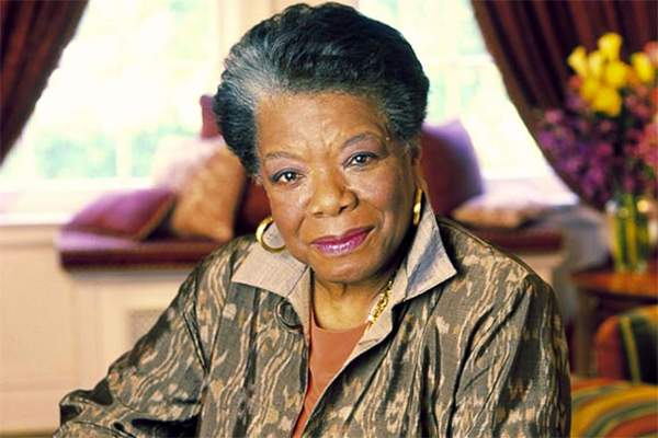 author, poet, singer, actress Maya Angelou - age: 86