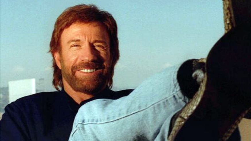 Actor Chuck Norris - age: 77