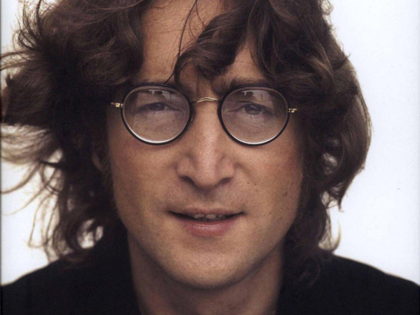 Singer John Lennon - age: 40